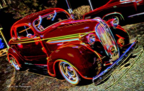 Electrofied Red (Kool Cats Photography)