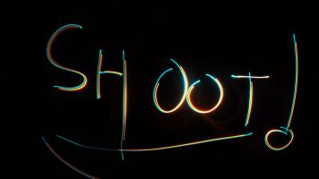 LightPainting Tutorial - Shoot!!
