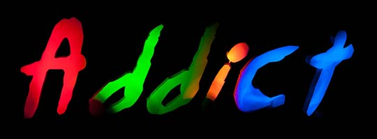 LightPainting Tutorial - Coloriage d'objets