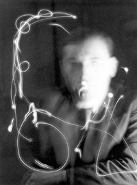 Man Ray : Man With Moving Light (1937)